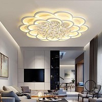 Superior Acrylic LED Modern Ceiling Chandelier