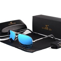 Polarized Aluminum Framed Luxury Sunglasses Collection - 6 Colors