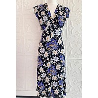 Ulf Anderson Floral Midi Dress