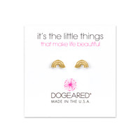 Rainbow Studs, Gold Dipped | Dogeared