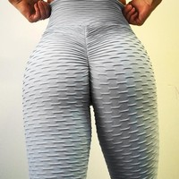 Women's Fashion Hot Sale Stylish Sexy Hip Up Yoga Pants [756206502004]