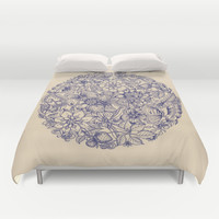 Circle of Friends Duvet Cover by Micklyn