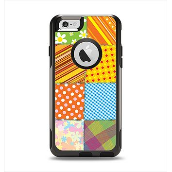 The Patched Various Hot Patterns Apple iPhone 6 Otterbox Commuter Case Skin Set