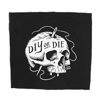 DIY or Die Large Fabric Patch