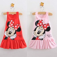 Minnie Mouse Dress Baby Clothing