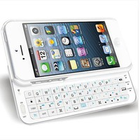 Bluetooth Wireless Keyboard Case Cover for Iphone 4/4s/5