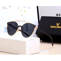 GENTLE MONSTER 2019 new men and women color film large frame polarized sunglasses #4