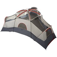 Camping tent for 20-Person -Red, Silver, Gray