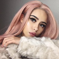 26 Candy Pink Wavy Synthetic Lace Front Wig-edw1082 [edw1082] - $92.00 : Everydaywigs.com