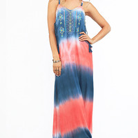 Bohemian Sunset Maxi Dress