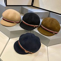 GUCCI  Hair Hat GG octagonal hat
