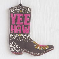 Cowboy Boot Car Air Freshener Strawberry Auto Air Freshner