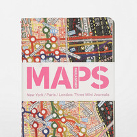 Urban Outfitters - Map Notebook - Set Of 3