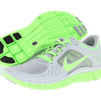 Nike Free Run+ 3 Wolf Grey/Electric Green - Zappos.com Free Shipping BOTH Ways