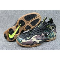 Nike Air Foamposite Pro Black Camo Men Sneaker