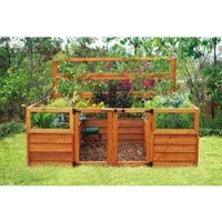 Raised-Bed Gardening System - 8ft. x 8ft., Model# 6309