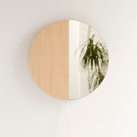 Circle Mirror Sconce - Urban Outfitters