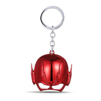 Julie Movie The Flash Mask Keychain Alloy Key Chains Superhero Key Rings Holder For Women Men Jewelry Llaveros Drop-shipping