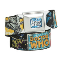 Doctor Who Villain Comic Seat Belt Belt
