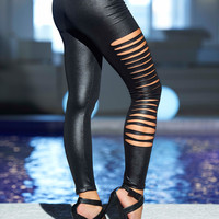 Smoking Hot Wetlook Leggings