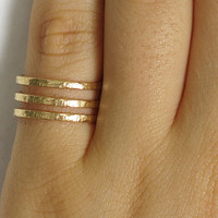 gold ring, stacker ring, stacker 3 rings, pinky ring, knuckle ring, band ring, simple ring, skinny ring, gold rings, thin ring