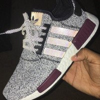 Adidas NMD R1 Fashion Sneakers Trending Running Sports Shoes