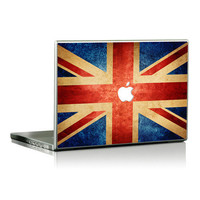 UK Flag macbook pro decals Skin macbook air skin by Newvision2012