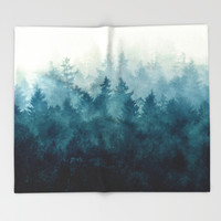 The Heart Of My Heart // So Far From Home Edit Throw Blanket by Tordis Kayma | Society6