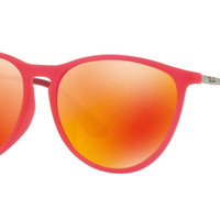 Authentic RAY-BAN 9060SF - 70096Q Kids Sunglasses Red Mirror *NEW* 52mm