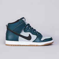 Flatspot - Nike SB Dunk High Pro Atomic Teal / Black - Wolf Grey
