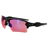 Oakley Sunglasses Flak 2.0 XL OO9188-06 Polished Black Prizm Trail