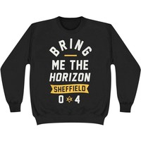 Bring Me The Horizon Men's  Sheffield Sweatshirt Black