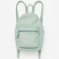 Leather Backpack Sea Glass