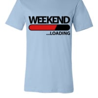 weekend loading f2 - Unisex T-shirt