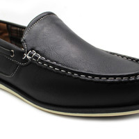 Men's Boat Shoes Casual Moccasin Deck Loafers Comfort - Flag
