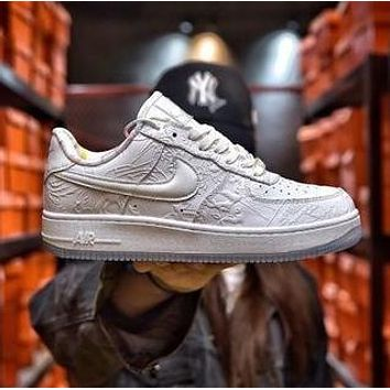 Nike Air Force One AF1 CNY paper-cut color flowers casual sports shoes men and women sports shoes