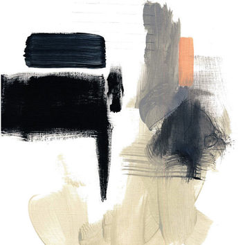 Print of Original Abstract Painting Untitled 2