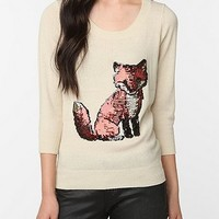 Cooperative Cute Embellished Front Sweater