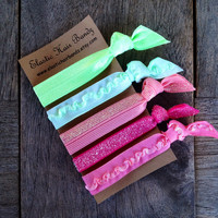 The Shea Hair Tie - Ponytail Holders - by Elastic Hair Bandz on Etsy