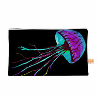"Ivan Joh ""Night Of Jellyfish"" Black Purple Everything Bag"