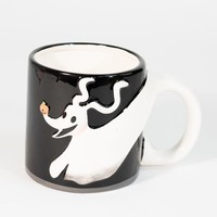 Black Nightmare Before Christmas Zero Ceramic Mug