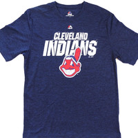 Cleveland Indians Majestic CoolBase Performance T Shirt Size L