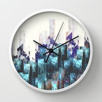 Cold cities Wall Clock by HappyMelvin