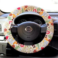 Steering-wheel-cover-for-wheel-car-accessories-Funky-Owl-Wheel-cover