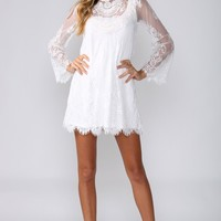 HelloMolly | Bohemian Dress White - Fun in the Sun - Dresses