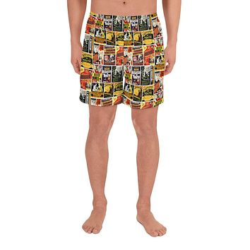 Reefer Madness Men's Athletic Long Shorts