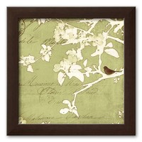 Art.com ''Song Birds I'' Framed Art Print by Amy Melious (Brown)