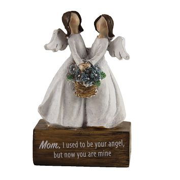 Figurines Angel Message On Blocks Message Mothers Day Heavenly - 9741161 MINE
