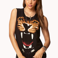 Growling Tiger Muscle Tee