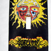 Light Switch Cover - Light Switch Plate  Sublime